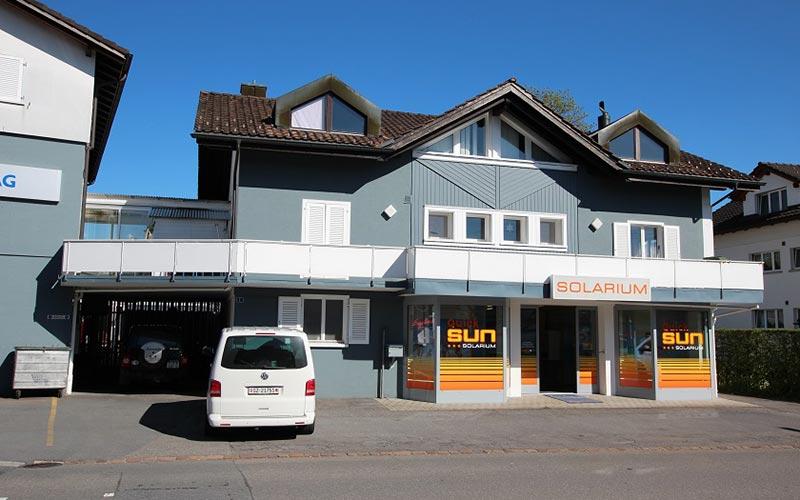 Quick-Sun Bräunungsstudio in Uznach freut sich auf Ihren Besuch!