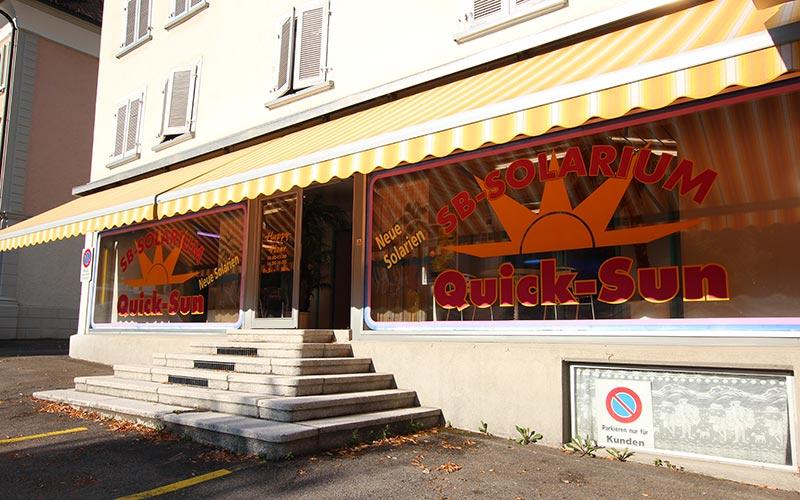 Quick-Sun Solarium-Studio in Wattwil ist bereit für Ihren Besuch!
